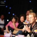 "Jonny Blu host/judge ""American Stars"" Competition - 蓝强主持评委《星光灿烂》演唱比赛CCTV/ICN TV"