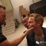 Jonny Blu filming Deadly Mist in China